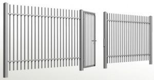 Ocelové plotové výplně